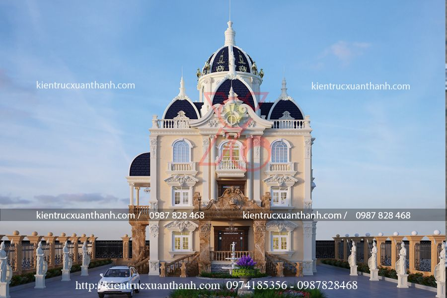 thiết kế lâu đài BT18151 - Ảnh 1