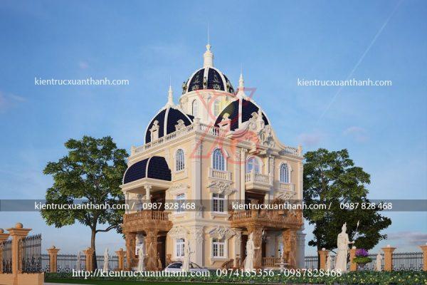 thiết kế lâu đài BT18151 - Ảnh 2
