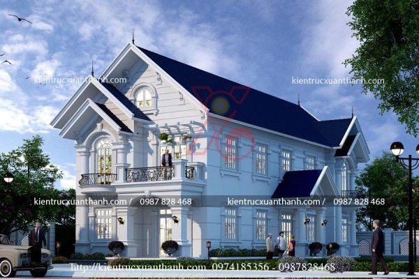 thiết kế nhà 2 tầng BT18293 - Ảnh 1