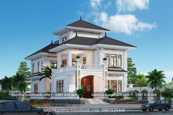 thiết kế nhà 2 tầng đẹp BT18245 - Ảnh 1