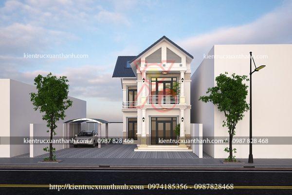 thiết kế nhà đẹp 2 tầng BT18304 - Ảnh 3