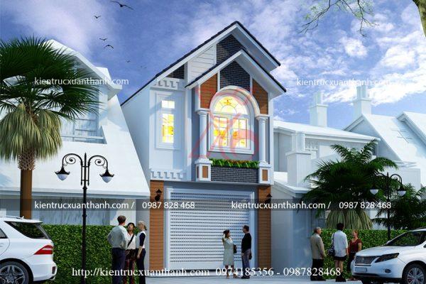 thiết kế nhà phố hiện đại NP18315 - Ảnh 2