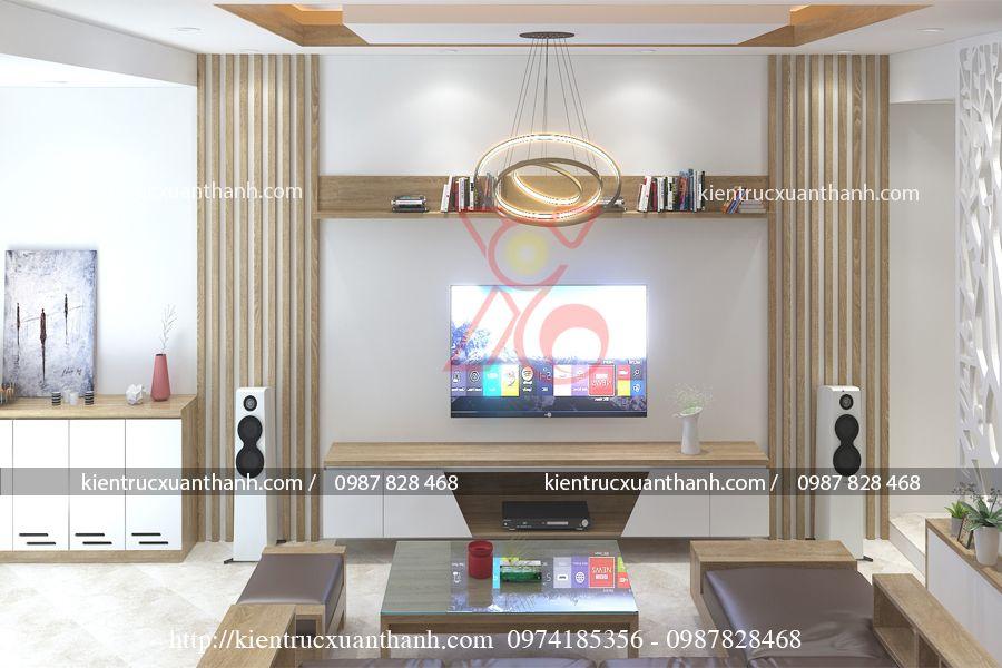 thiết kế nội thất nhà ống 51.1