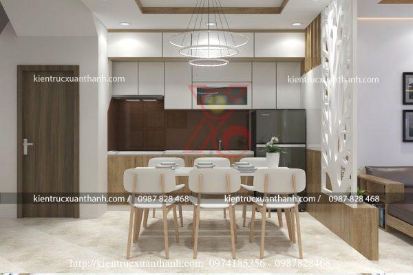 thiết kế nội thất nhà ống 51.5