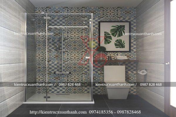 thiết kế nội thất nhà ống 51.7