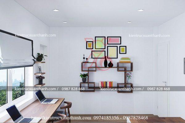 thiết kế nội thất nhà ống 51.9