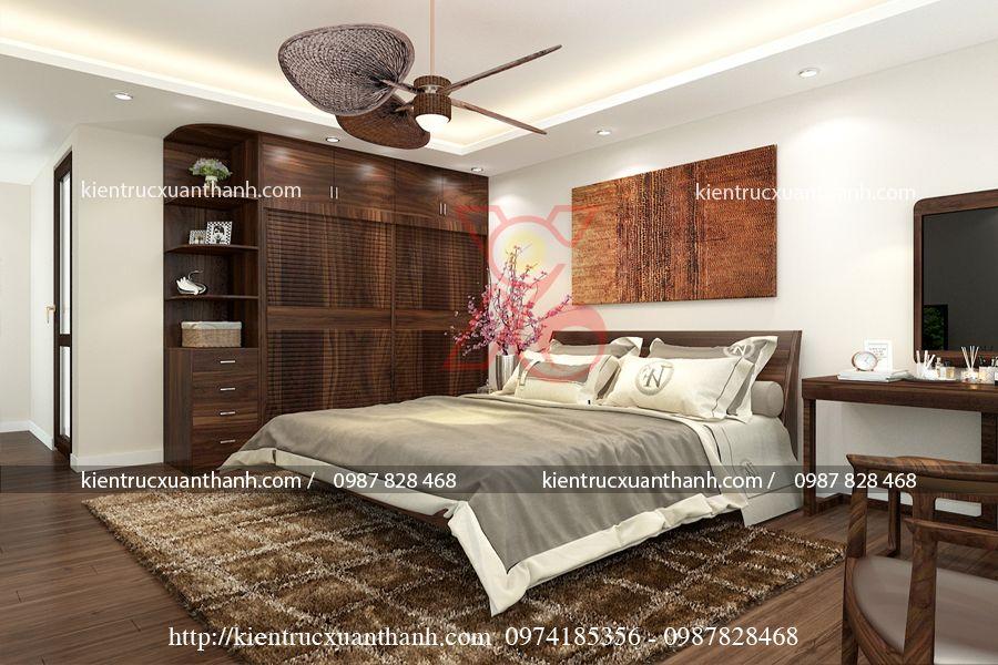thiết kế phòng ngủ master 47.2