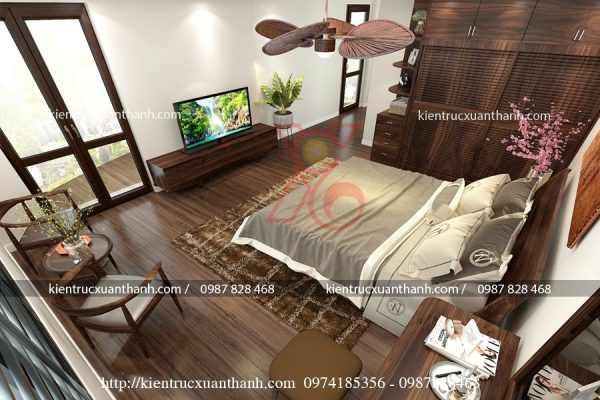 thiết kế phòng ngủ master 47.3