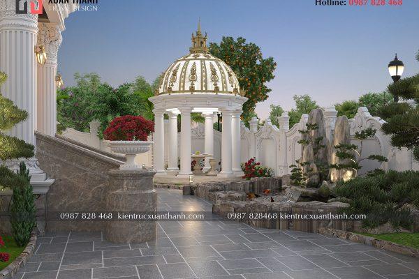 biệt thự 2 tầng tân cổ điển đẹp 317 - Ảnh 5