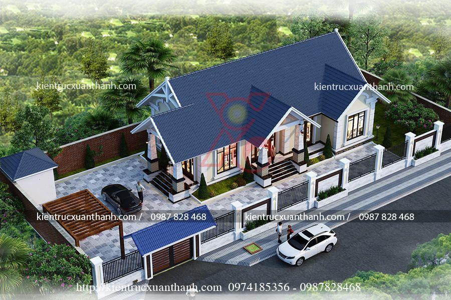 nhà biệt thự 1 tầng BT18295 - Ảnh 3