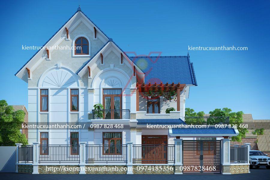 thiết kế biệt thự đẹp 2 tầng BT18319 - Ảnh 3