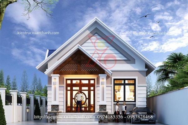 mẫu nhà biệt thự 1 tầng BT18300 - Ảnh 3