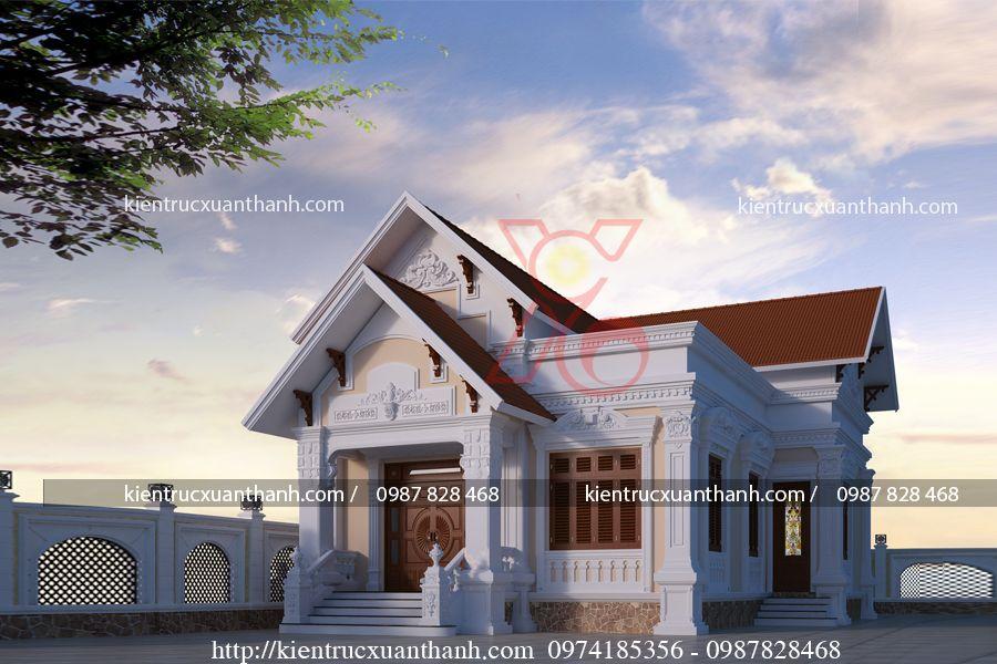 nhà biệt thự 1 tầng đẹp BT18298 - Ảnh 1