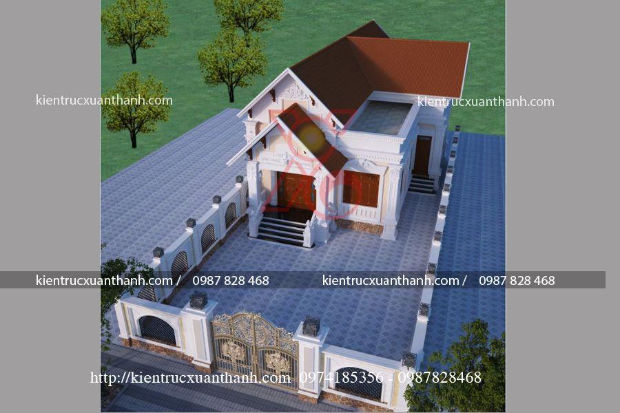 nhà biệt thự 1 tầng đẹp BT18298 - Ảnh 2