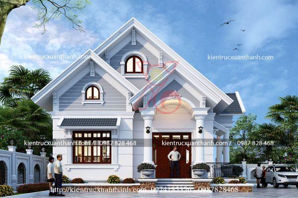thiết kế nhà 1 tầng đẹp BT18297 - Ảnh 2