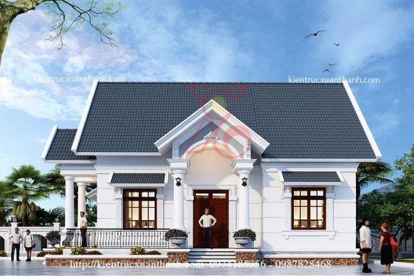 thiết kế nhà 1 tầng đẹp BT18297 - Ảnh 3