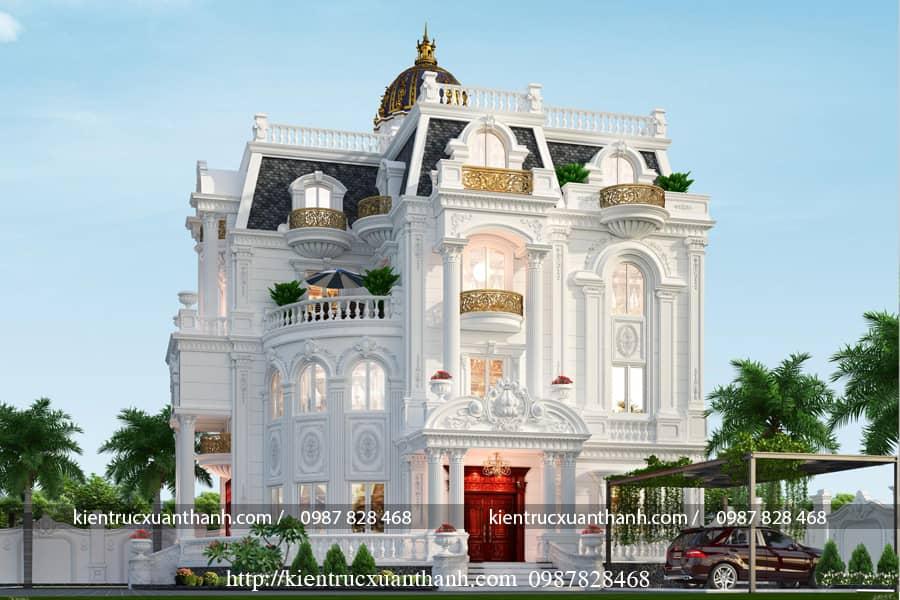 thiết kế nhà 3 tầng đẹp BT18475 - Ảnh 1