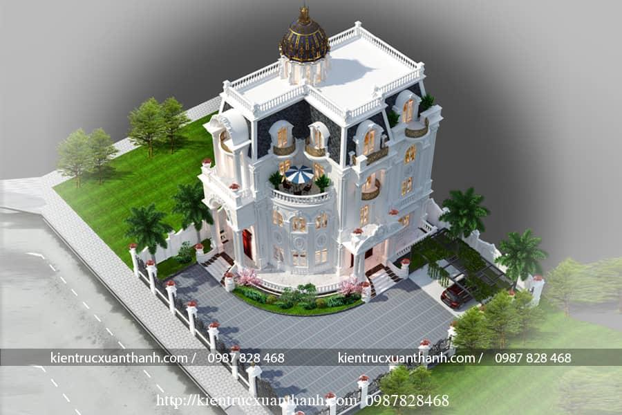 thiết kế nhà 3 tầng đẹp BT18475 - Ảnh 2