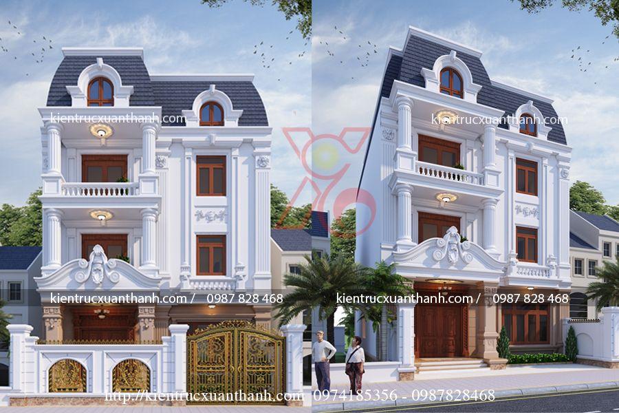 biệt thự tân cổ điển 3 tầng BT18473 - Ảnh 2