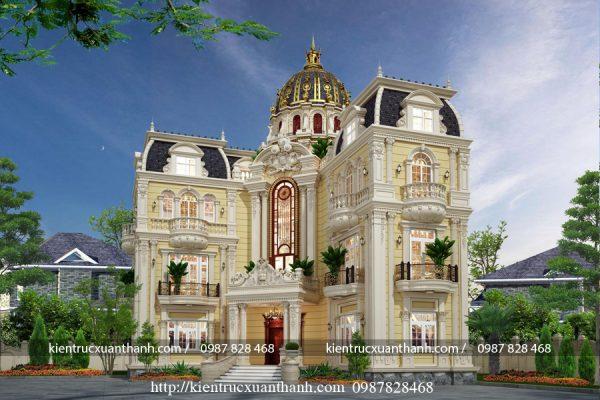 lâu đài 3 tầng sa hoa lộng lẫy LD10006 - Ảnh 1