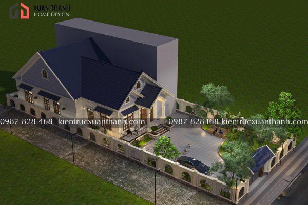 nhà 1 tầng mái thái đơn giản BT18322 - Ảnh 2