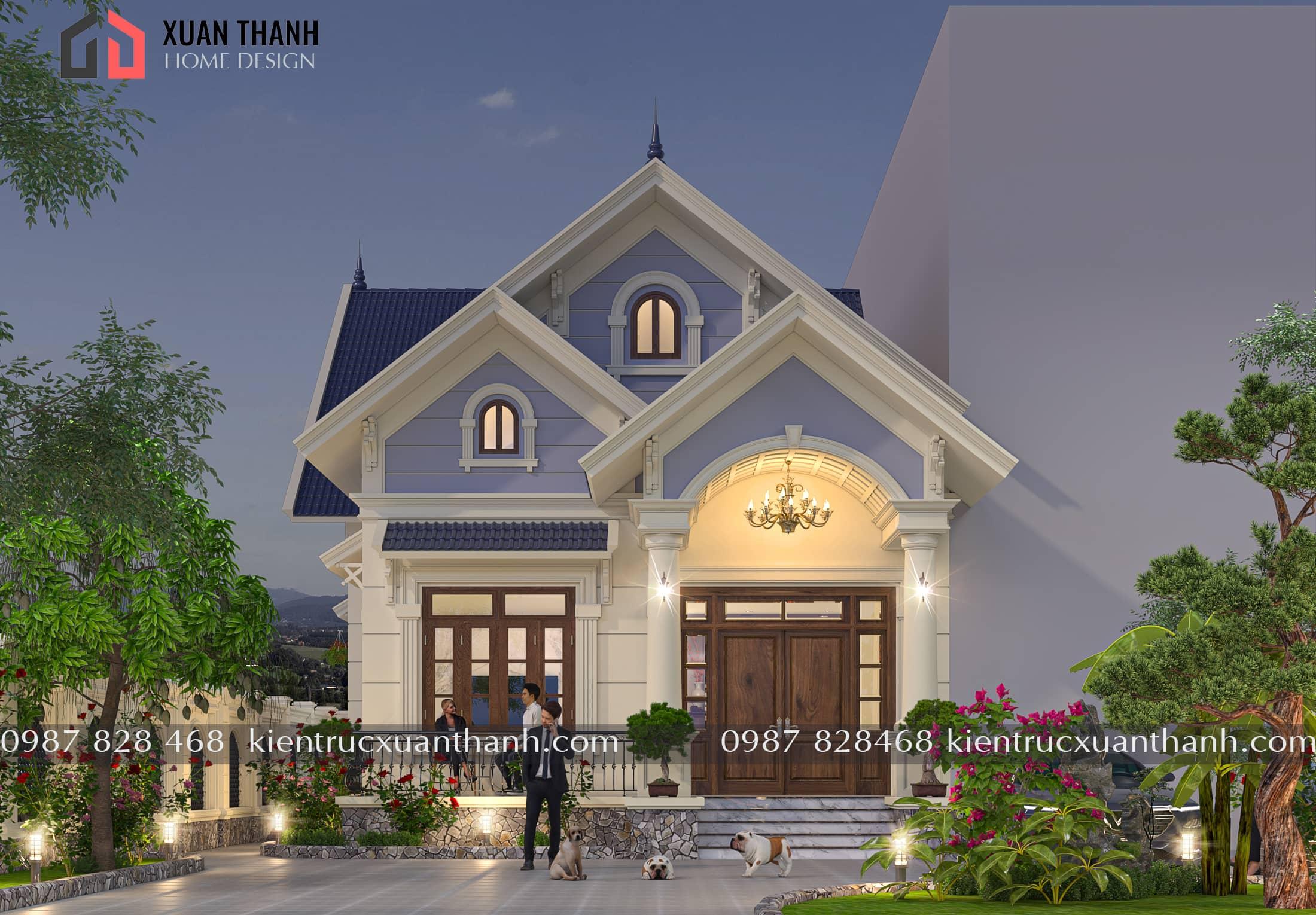 nhà 1 tầng mái thái đơn giản BT18322 - Ảnh 3