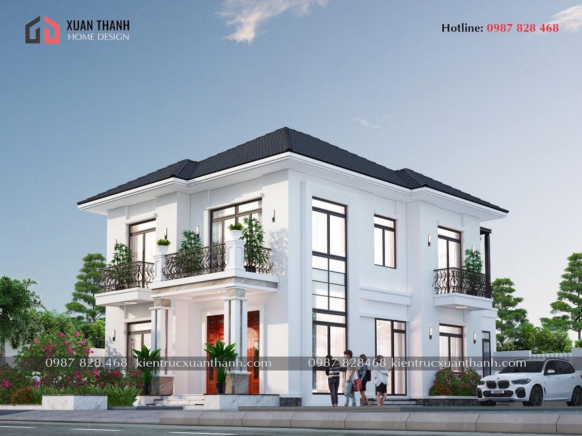 Nhà 2 tầng mái nhật 4 phòng ngủ BT20499 - Ảnh 1