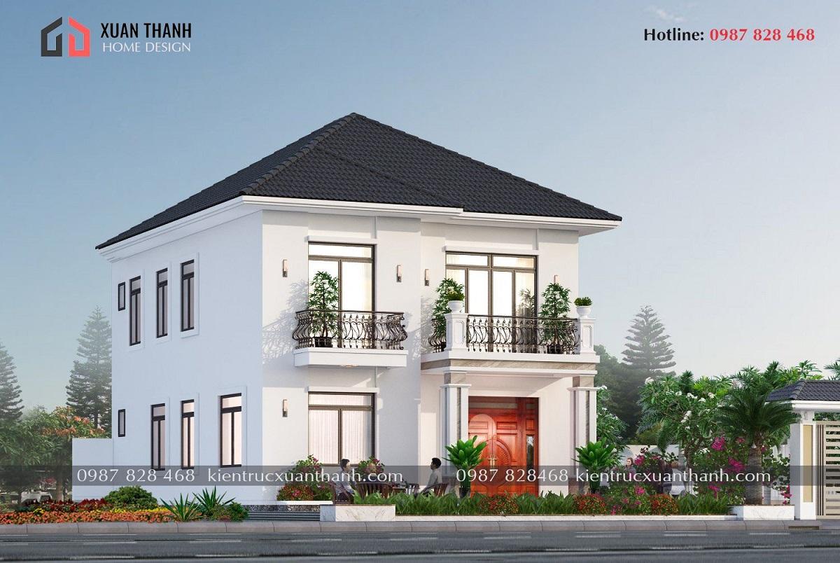 Nhà 2 tầng mái nhật 4 phòng ngủ BT20499 - Ảnh 2