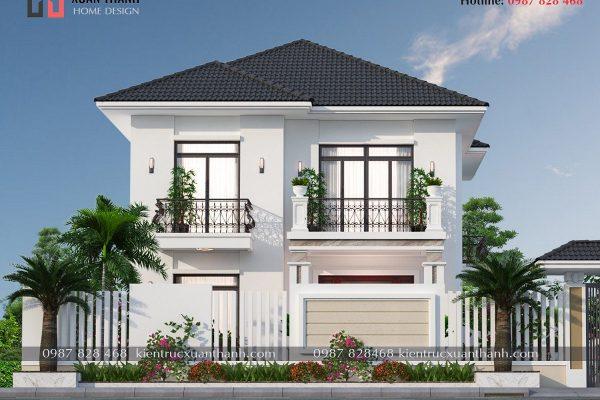 Nhà 2 tầng mái nhật 4 phòng ngủ BT20499 - Ảnh 3