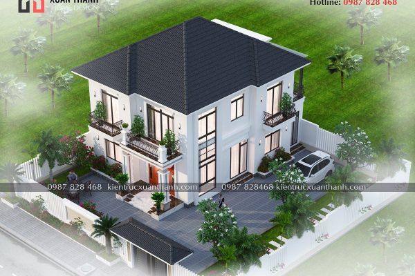 Nhà 2 tầng mái nhật 4 phòng ngủ BT20499 - Ảnh 6