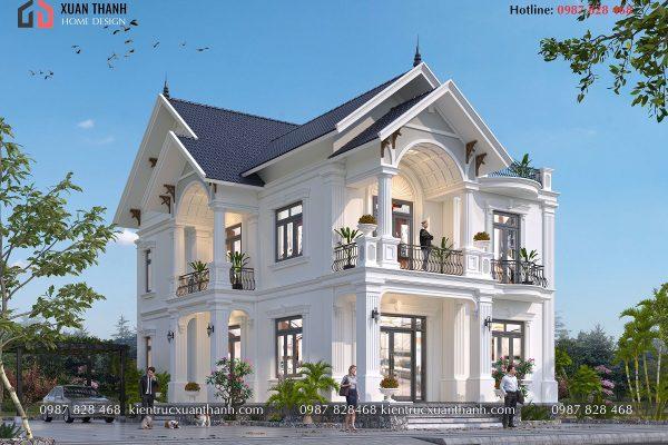 nhà 2 tầng mái thái 4 phòng ngủ BT20501 - Ảnh 3