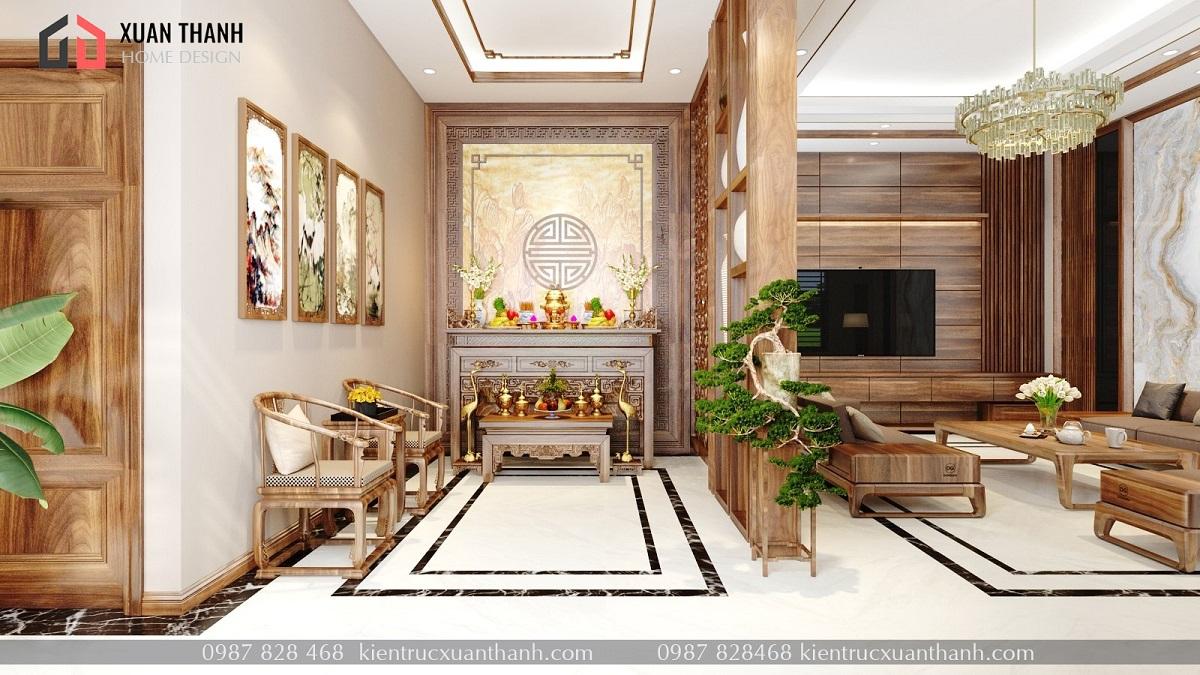 nội thất phòng khách hiện đại đẹp NT18055 - Ảnh 1