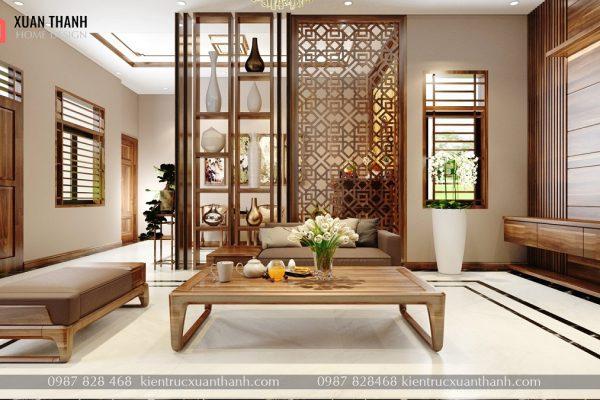 nội thất phòng khách hiện đại đẹp NT18055 - Ảnh 2