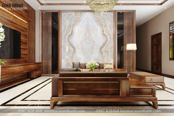 nội thất phòng khách hiện đại đẹp NT18055 - Ảnh 3