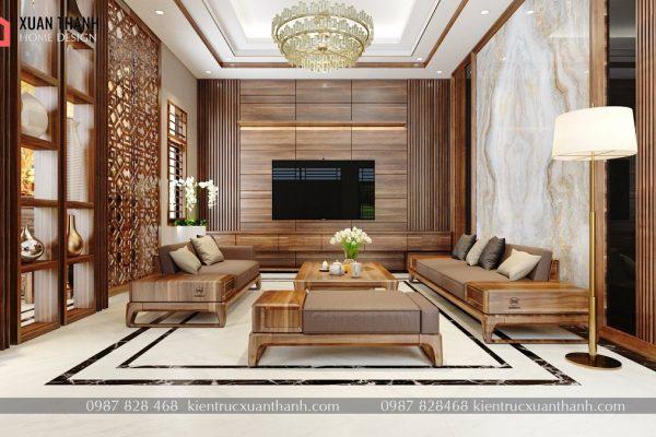 nội thất phòng khách hiện đại đẹp NT18055 - Ảnh 4