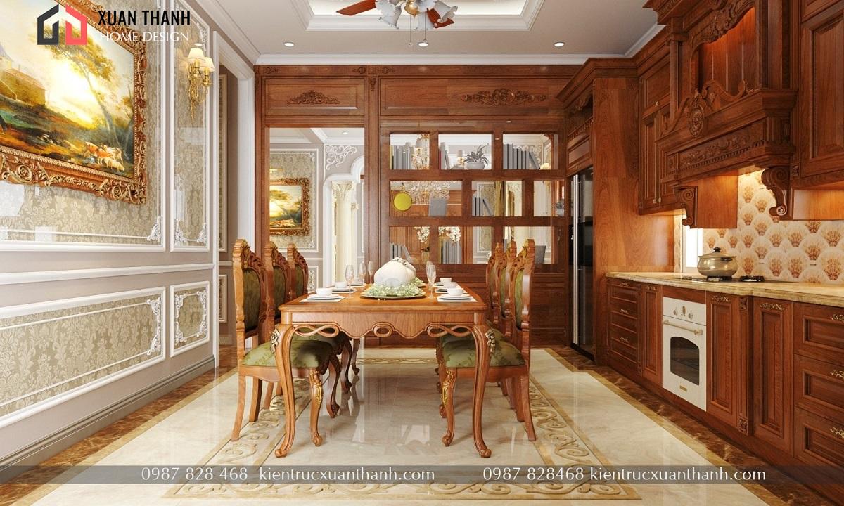 thiết kế nội thất tân cổ điển NT18053 - Ảnh 5