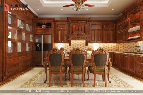 thiết kế nội thất tân cổ điển NT18053 - Ảnh 6