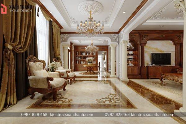 thiết kế nội thất tân cổ điển NT18053 - Ảnh 7